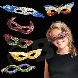 Assorted Sequin Masks