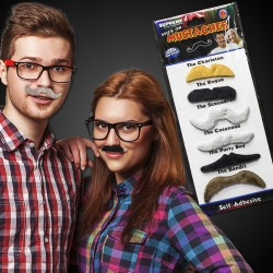 Mustache Party Pack - 6 Pack