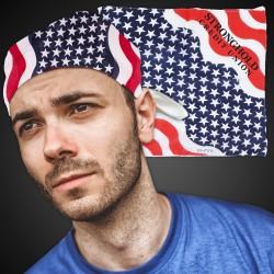 American Flag Bandanas - 21 Inch