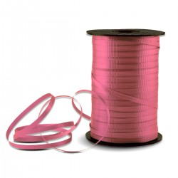 Pink Crimped Curling Ribbon - 500 Yards