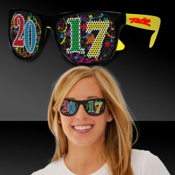 2017 Neon Yellow Billboard Sunglasses