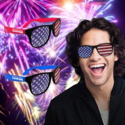 American Flag  Billboard Sunglasses