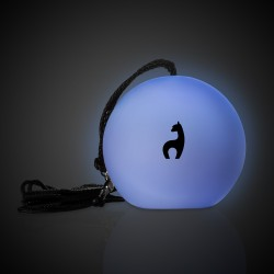 LED Spinning Ball with Finger Straps