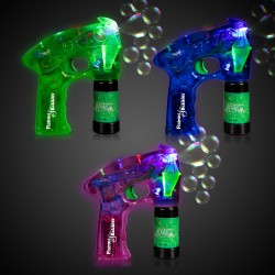 Neon LED Bubble Guns