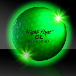 Green Night Flyer Golf Ball