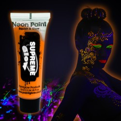 Sunshine Orange UV Face & Body Paint