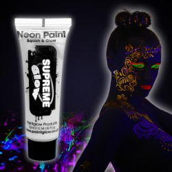 White UV Face & Body Paint