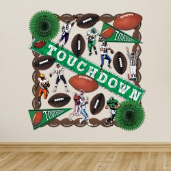 Football Touchdown Decoration Kit