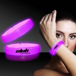 Pink Deluxe Triple Wide 9 Inch Glow Bracelet