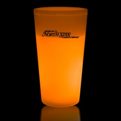 Orange 12 Ounce Glow Cups