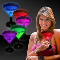 9 Ounce Glowing Martini Glass