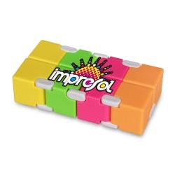 Multi Color Infinity Cube