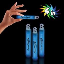 "Blue 4"" Premium Glow Sticks"