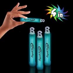 """Aqua 4"""" Premium Glow Sticks"""