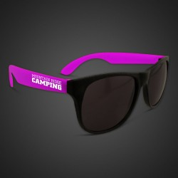 Purple Neon Sunglasses