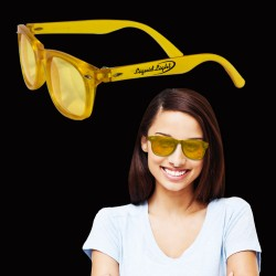 Yellow Blues Sunglasses