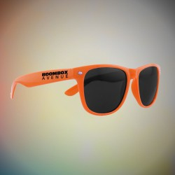 Premium Orange Classic Retro Sunglasses