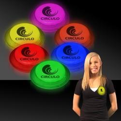 """3"""" Glow Circle Badges"""