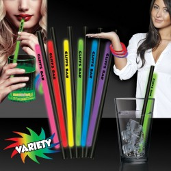 9 Inch Glow Straws AND Bracelets  - Variety of Colors
