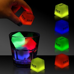 "1"" Glowing Ice Cubes"