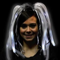 Black & White LED Diva Dreads