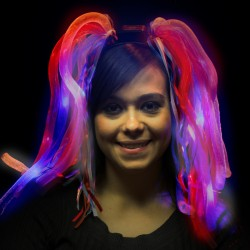Patriotic LED Diva Dreads
