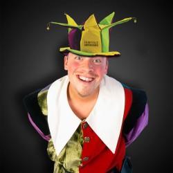 Mardi Gras Velvet Jester Hat