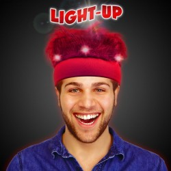 Red LED Spirit Hair Headband