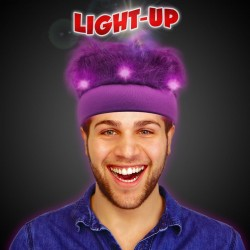 Purple LED Spirit Hair Headband