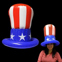 Inflatable Uncle Sam Top Hat
