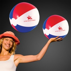 Inflatable 16 Inch Patriotic Beach Ball