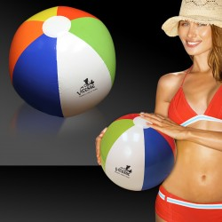 Inflatable 16 Inch Multi Color Beach Ball