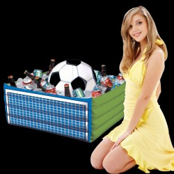 Soccer Fan Inflatable Cooler