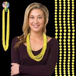 Yellow Bead Necklaces