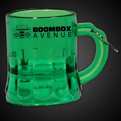 Mini Green Beer Mug Medallion
