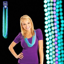 Glow in the Dark Mardi Gras Beads