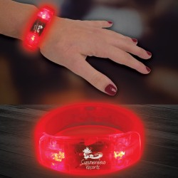 Red LED Bangle Bracelet