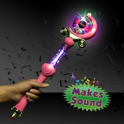 Pink Princess Wand with Lights and Sound