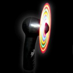 """Black Body LED Fan -4"""""""