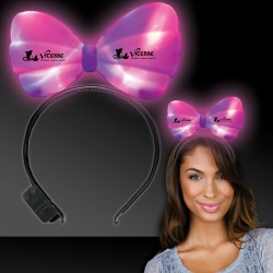Light Up LED Bow Headband