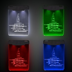 Sound-Activated LED Badge