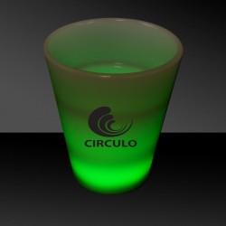 Green LED Shot Glass