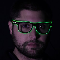 Green LED EL Sunglasses