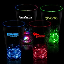 16 oz  LED Pint Glass