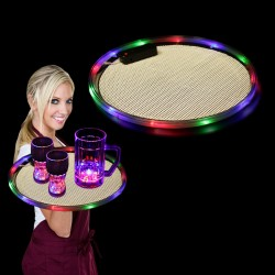 Multi Color Light Up Serving Tray