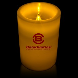 LED Pillar Candle - 4 1/2 Inch
