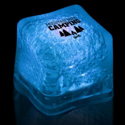 Imprinted BLUE Lited Ice Cubes