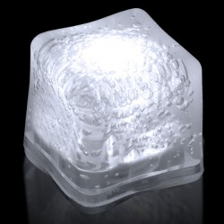 Blank WHITE Lited Ice Cubes