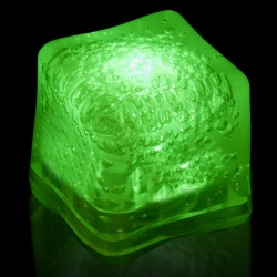 Blank GREEN Lited Ice Cubes