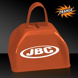 "3"" Orange Metal Cowbells"